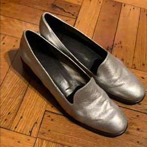 Rachel Comey Silver Loafers